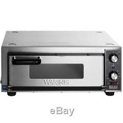 Waring Countertop Pizza / Snack Oven Manual Thermostatic and Timer 120V, 1800W