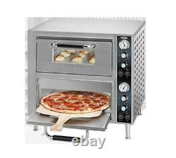 Waring WPO750 27 Double Deck Electric Countertop Pizza Oven