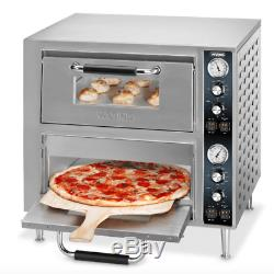 Waring WPO750 Countertop Pizza Oven Double Deck, 240v/1ph