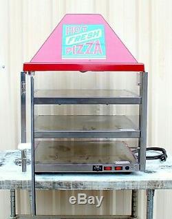 Wisco Industries3 Shelf Pizza Display Warmer, Single Door Unit