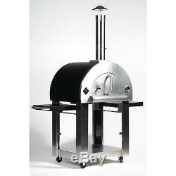 Wood-Burning Pizza Oven and Cart + Cover Rustic cooking with restaurant-quality