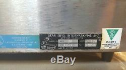 XL ROTATING STAR HFD Humidity Display Cabinet 4 Pizza Hot Sandwich Food Warmer
